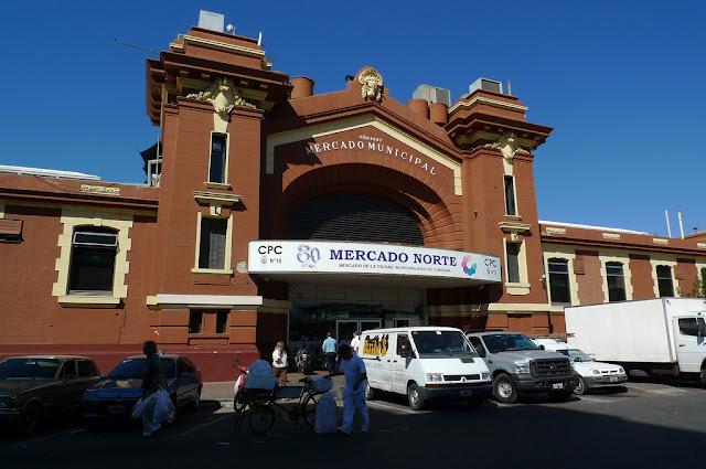 Mercado Norte em Córdoba, Argentina