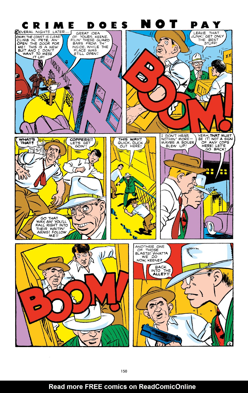 Read online Crime Does Not Pay Archives comic -  Issue # TPB 10 (Part 2) - 51