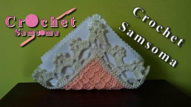 كروشيه حاملة منادل . كروشيه حاملة محارم صفرة . كروشيه حافظة منادل  . - Crochet Tissue Cover