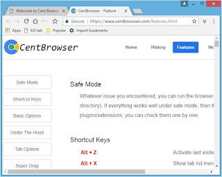 برنامج, التصفح, Cent ,Browser, اخر, اصدار