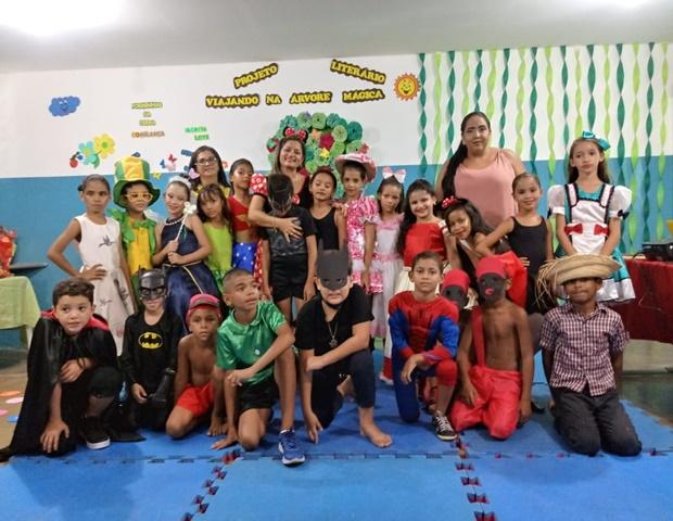 Projeto Literário encerra atividades no CIEP II, em Patos