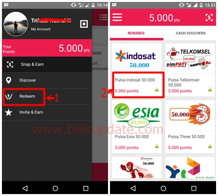 Cara Mendapatkan Pulsa Gratis 50 Ribu Dengan Cepat Dari Manis App