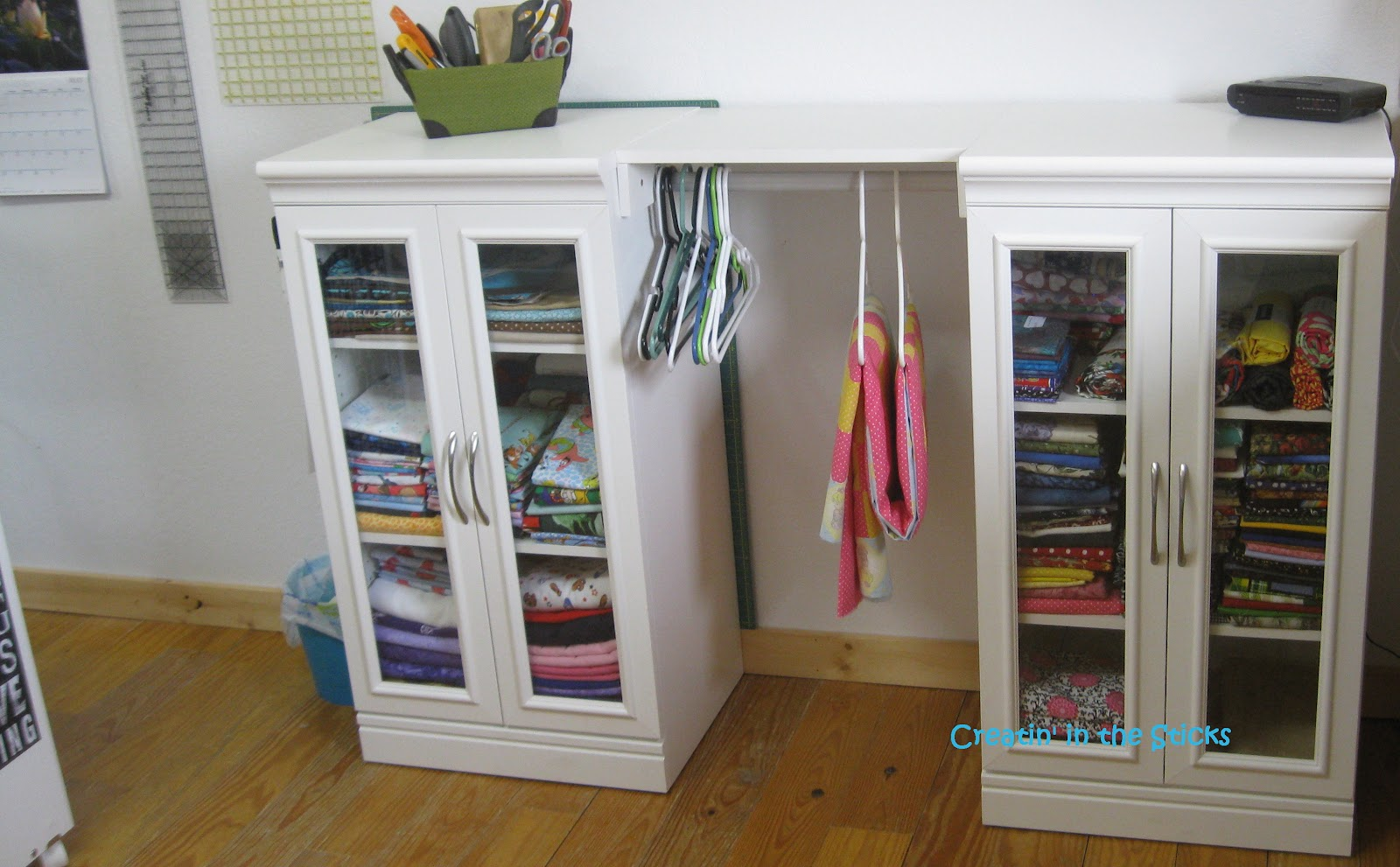 Creatin' in the Sticks: Sewing Room