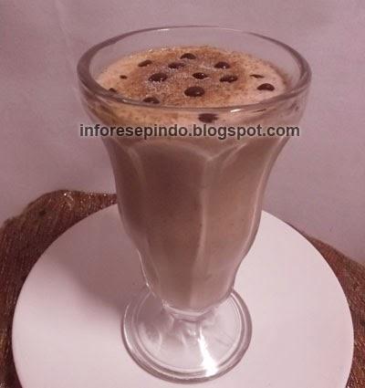 Cara Membuat Milk Shake Kopi Mocacino Segar