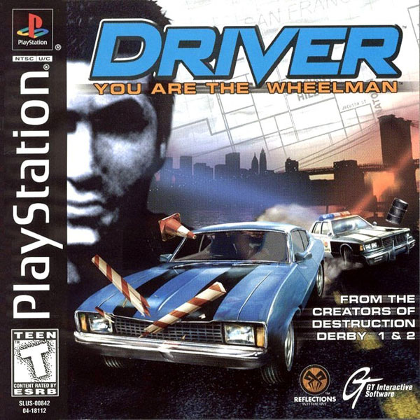 Driver - You Are The Wheelman - PS1 - ISOs Download
