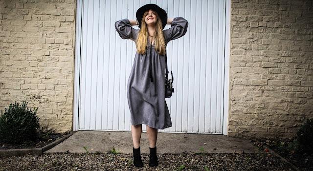 How to style a Zara tunic dress
