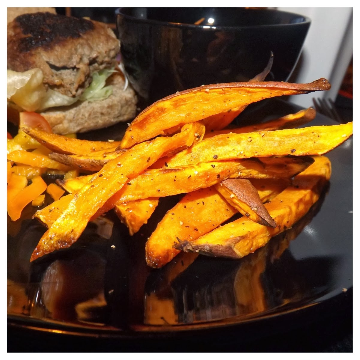 Slimming World sweet potato fries