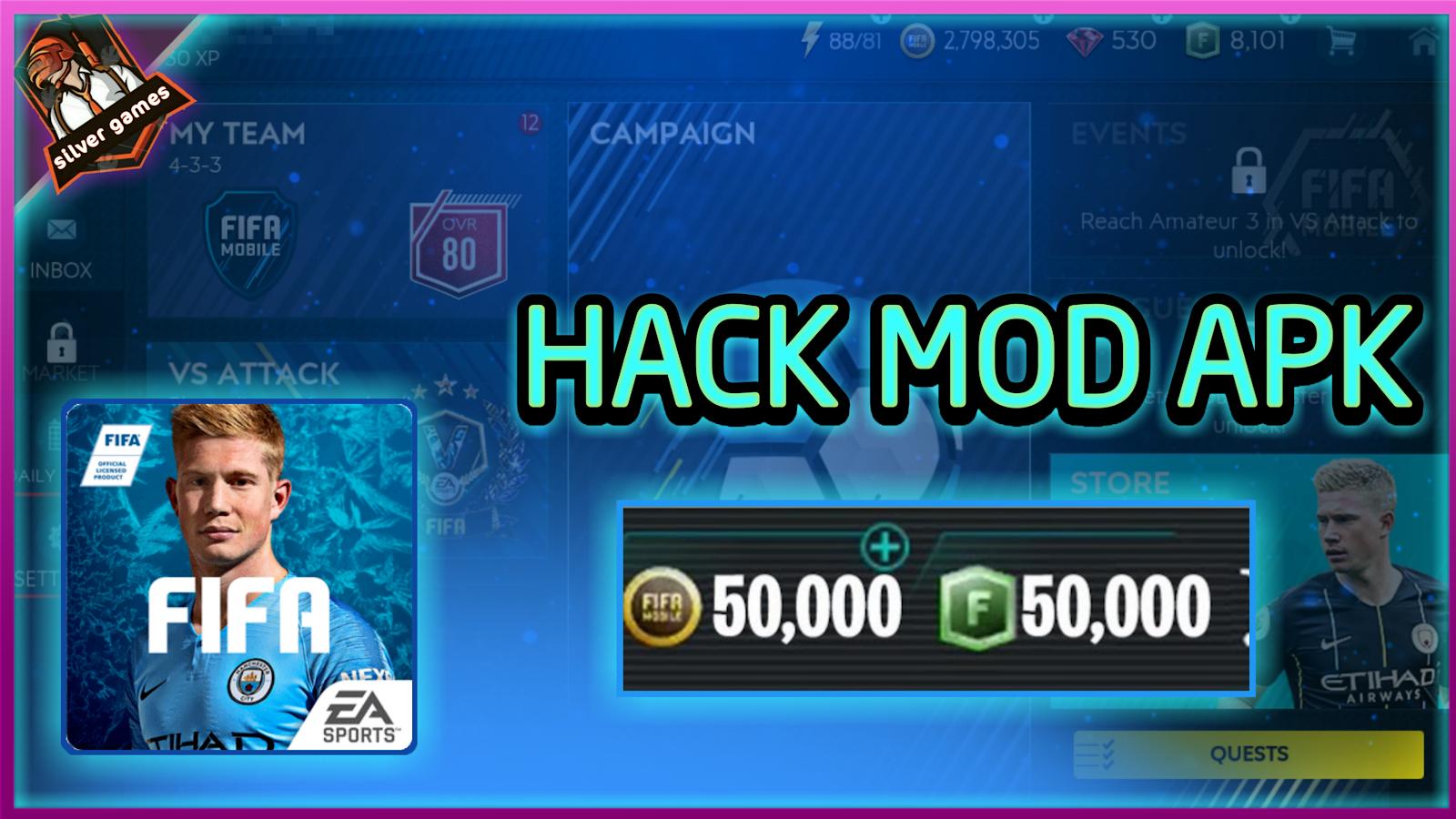 download FIFA MOBILE 19 HACK MOD APK | Unlimited money