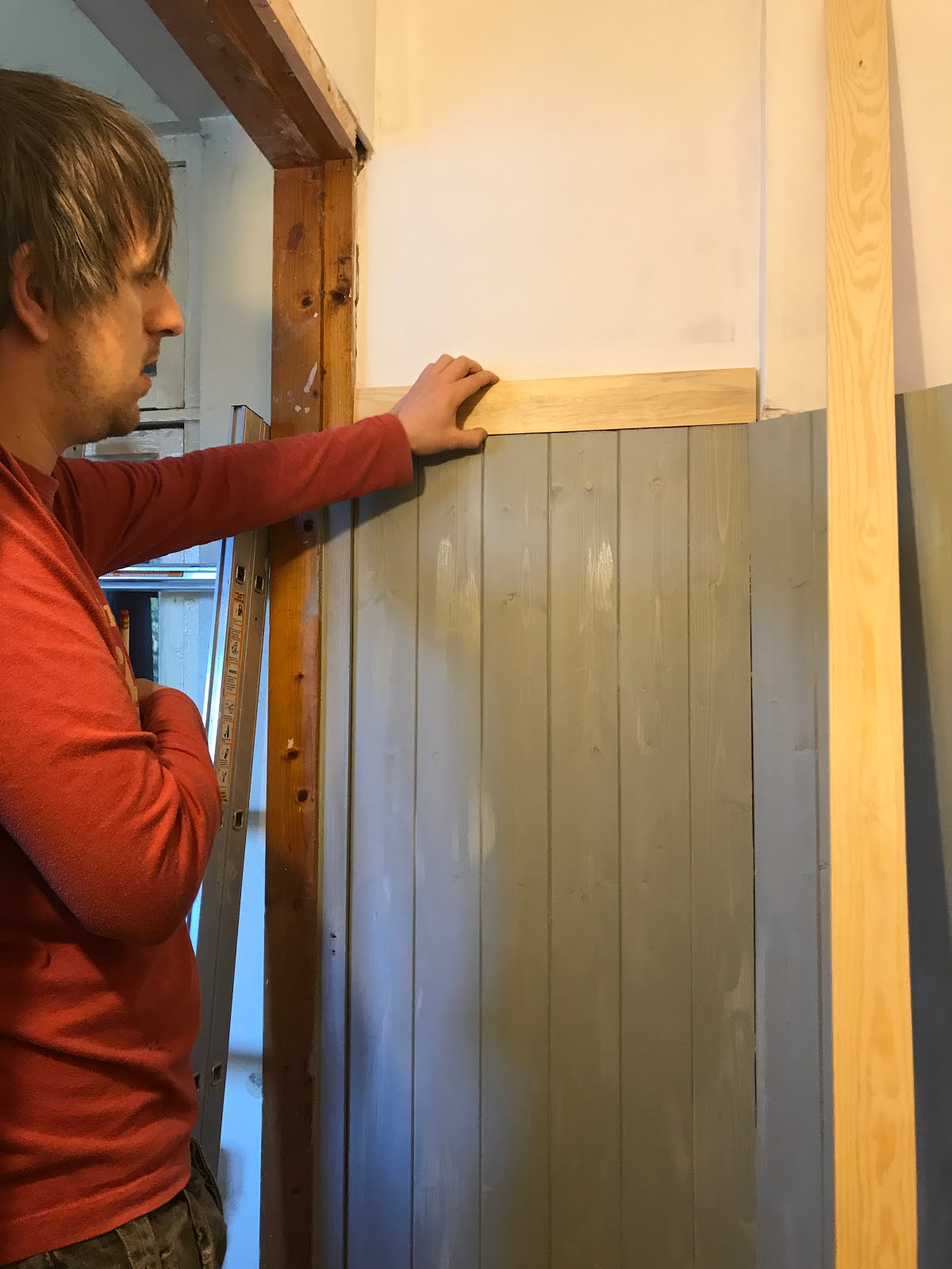How to finish top of panelling