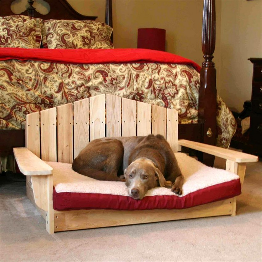 Diy Pallet Dog Bed Ideas Make At Home Pallets Platform