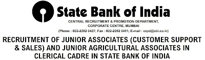 State Bank Junior Associate Bharti Apply Online