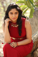 Telugu Actress Zahida Sam Latest Pos in Red Gown at RF Films New Movie Opening  0278.JPG