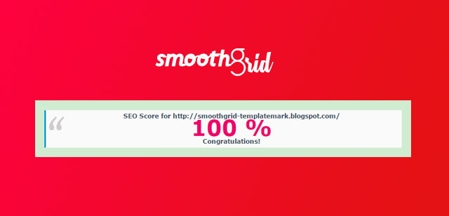 Smooth Grid SEO friendly blogger template