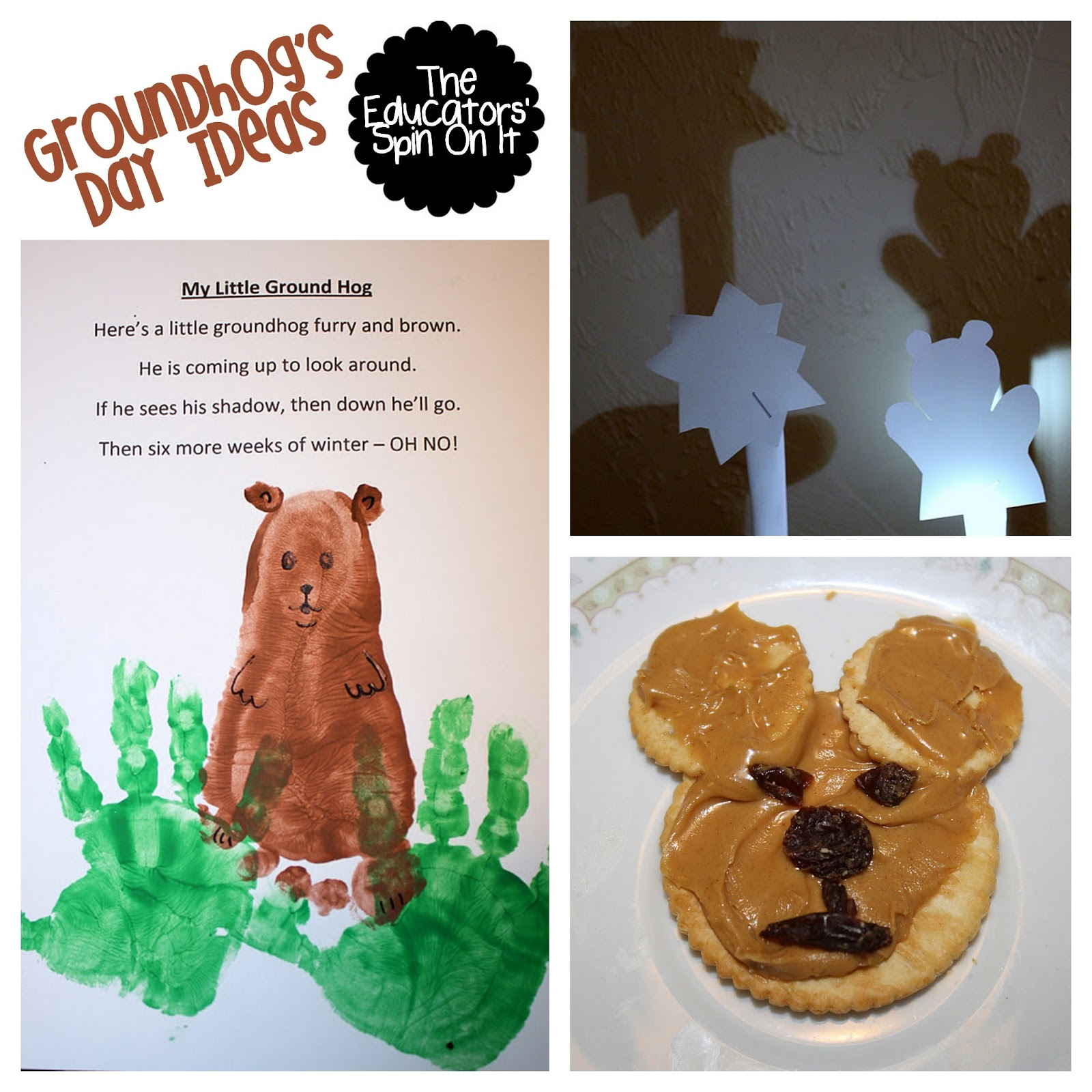 The Educators Spin On It Groundhog Day Ideas For Kids