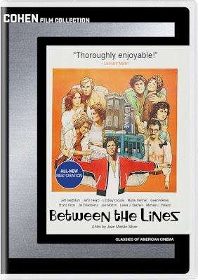 Between The Lines 1977 Dvd