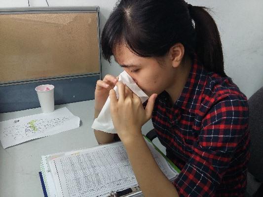 Cách phòng bệnh viêm mũi dị ứng tốt nhất cho dân văn phòng