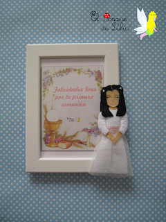 marco-comunión-personalizado-fieltro-primera-comunion-regalo-muñeca-comunión-elbosquedelulu-hechoamanoparati-felt-doll-feltro