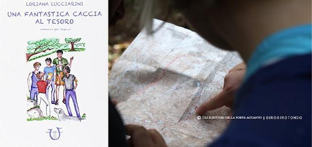 Libri Una fantastica caccia al tesoro, di Loriana Lucciarini Recensione Gli scrittori della porta accanto