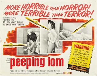 Poster de la película Peeping Tom 1960