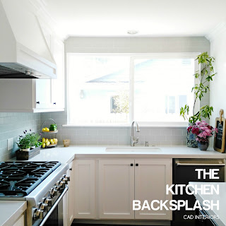 CAD INTERIORS kitchen renovation home improvement diy subway tile backsplash installation