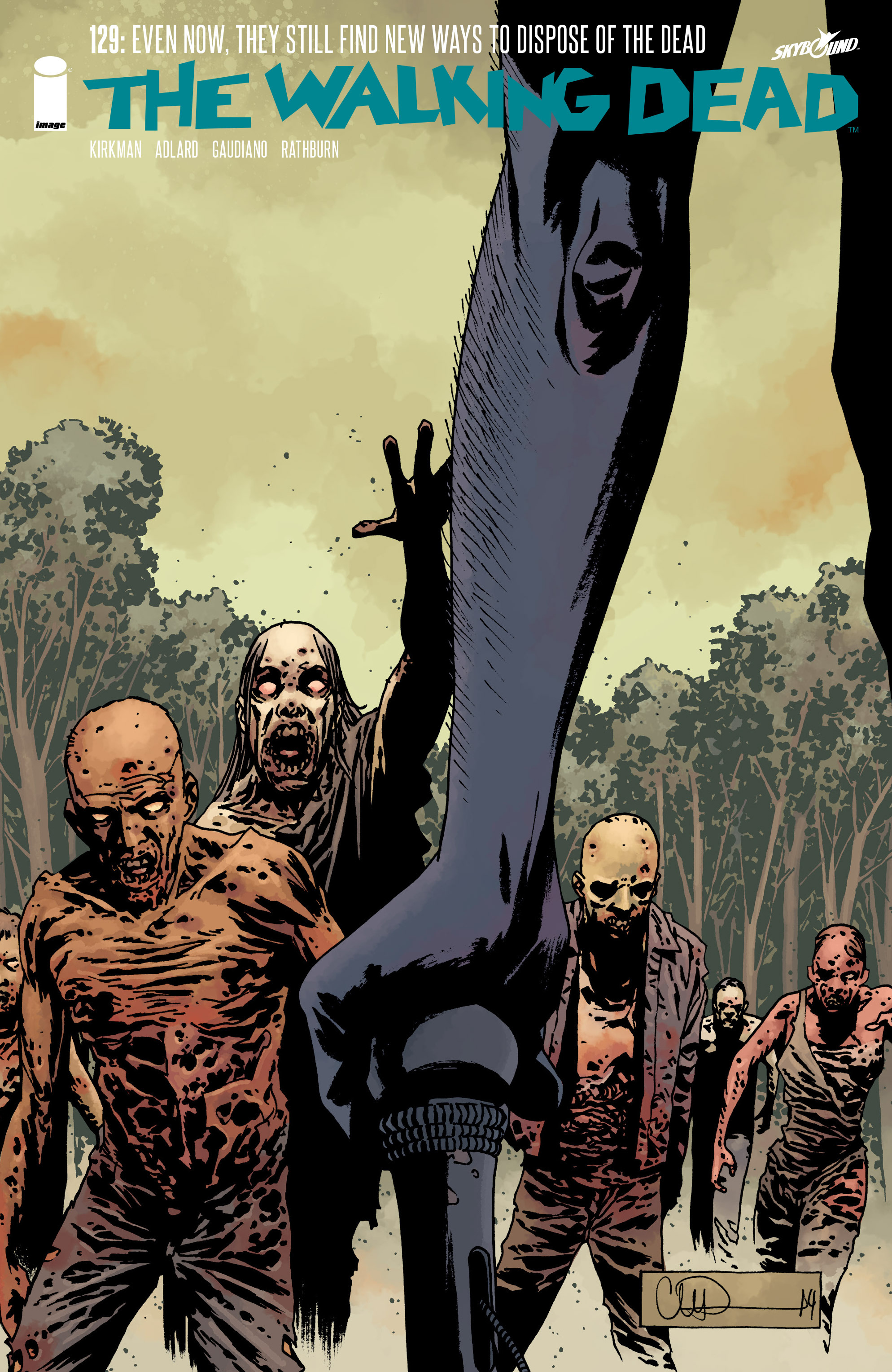 The Walking Dead 129 Page 1