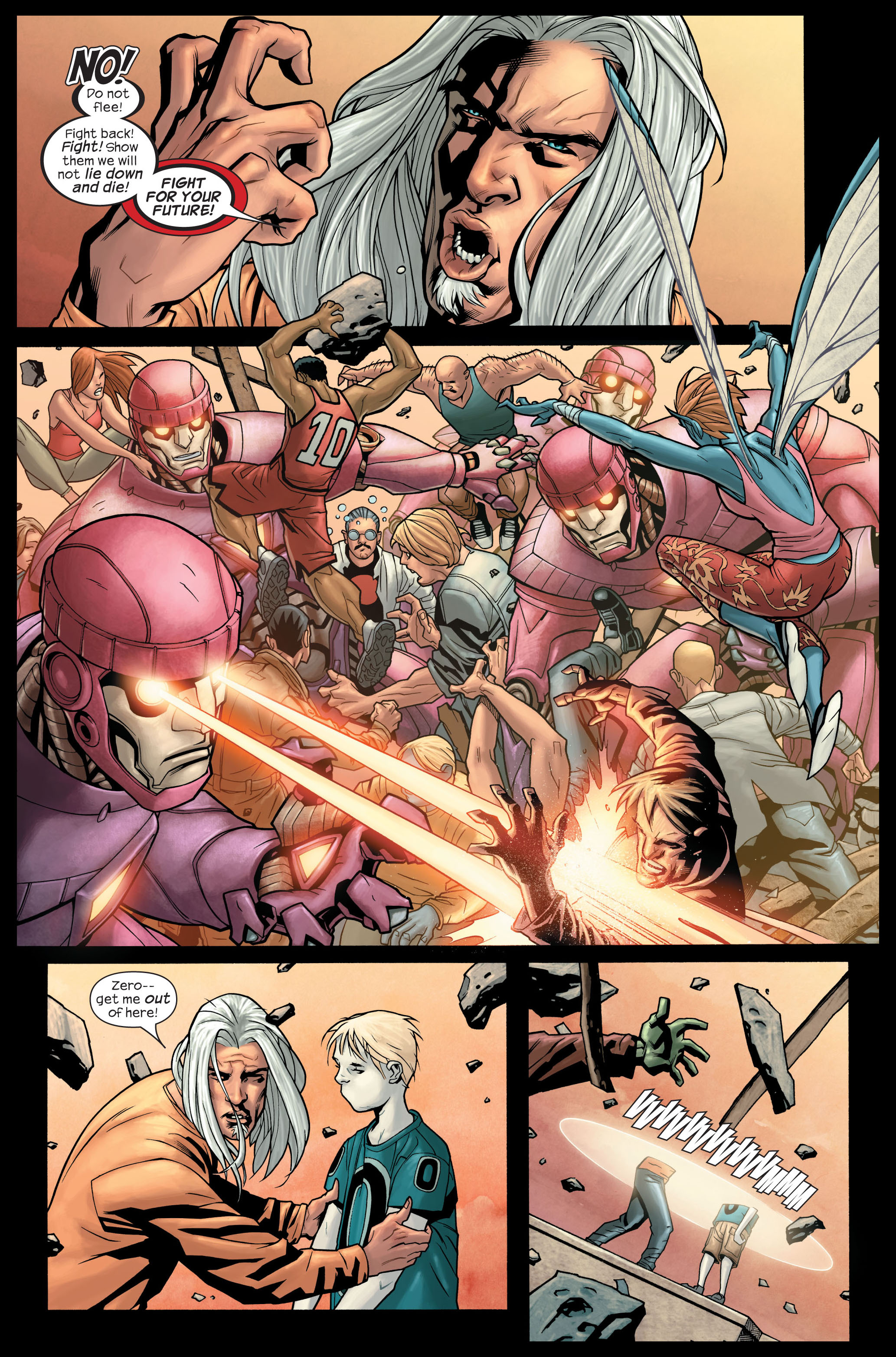 Read online Ultimate X-Men comic -  Issue #84 - 8