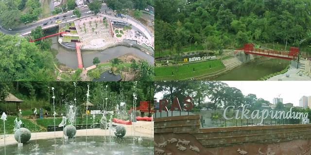 Lokasi Teras Cikapundung Bandung