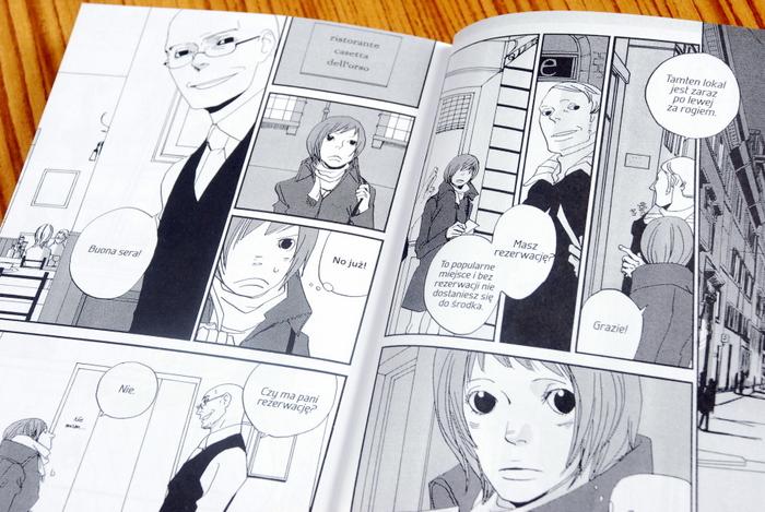 Wnętrze komiksu, przybycie Nicoletty