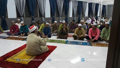 Program Solat Hajat dan Majlis Penyerahan Ilmu UPKK 2016 SAR KAFA Masjid Saidina Othman Ibnu Affan