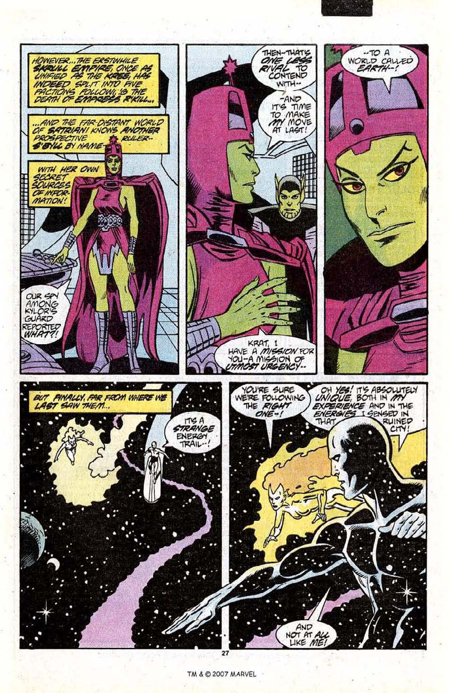 Read online Silver Surfer (1987) comic -  Issue #13 - 29