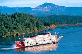American Cruise Lines' Queen of the West Paddle wheeler