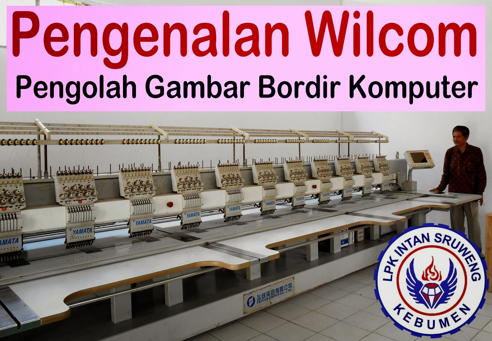 Mesin Bordir Digital 12 Kepala