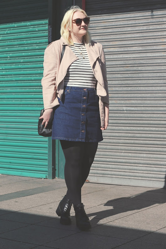 OOTD | Denim and Stripes | Je Suis Cat | A Fashion and Lifestyle Blog