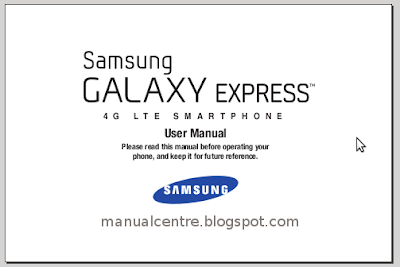 Samsung Galaxy Express Manual Cover