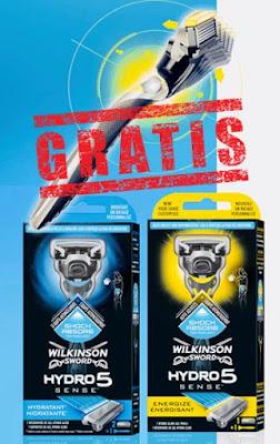 Prueba gratis Wilkinson Hydro 5 Sense