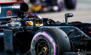 Alonso en el GP de Singapur 2016