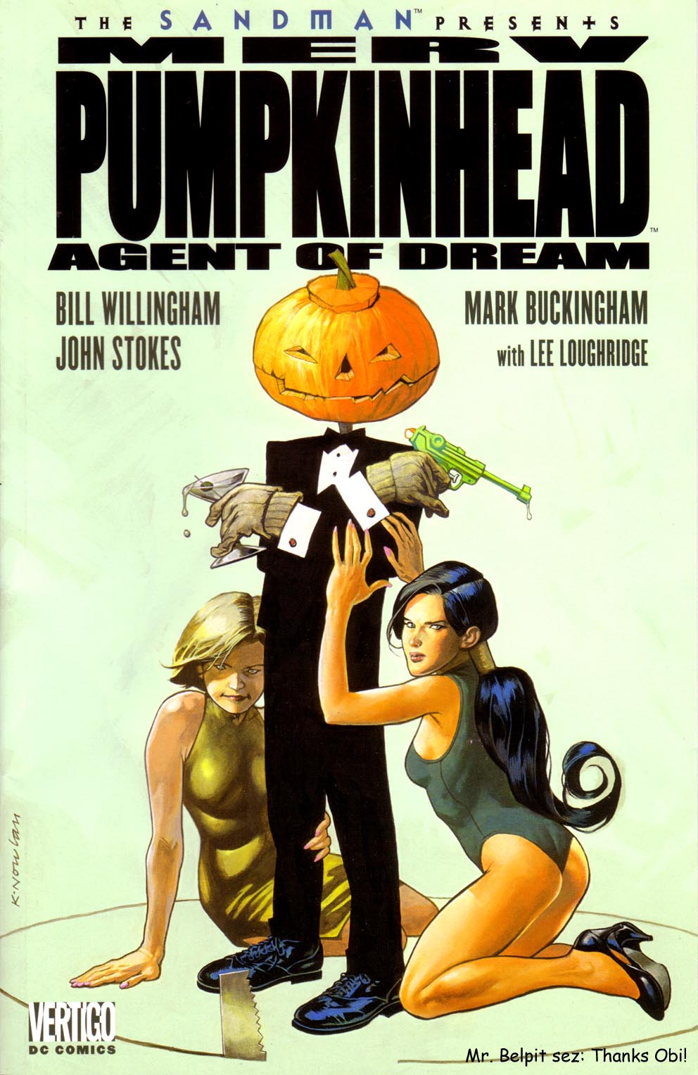 Read online Merv Pumpkinhead, Agent of D.R.E.A.M. comic -  Issue # Full - 1