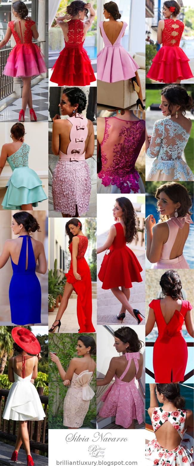 Brilliant Luxury ♦ Silvia Navarro dresses