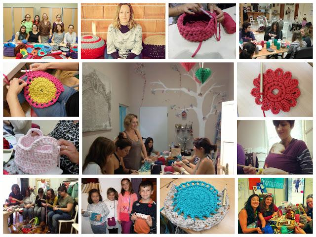 talleres de ganchillo, talleres crochet, crochet, ganchillo
