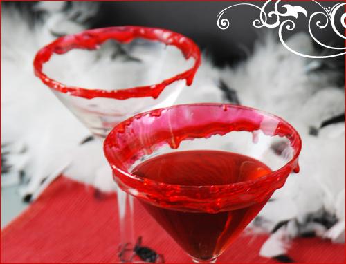 Copa Martini al estilo Vampiro