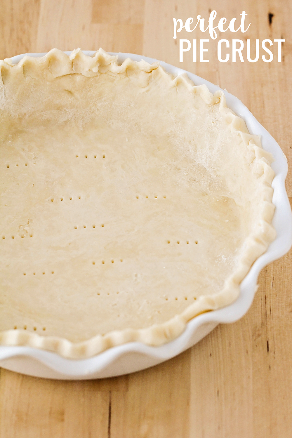 Homemade pie crust is simple, quick, and easy to make with this fantastic recipe!