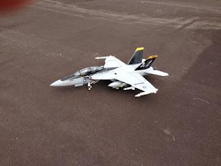 F 18 Super Hornet, aéromodélisme