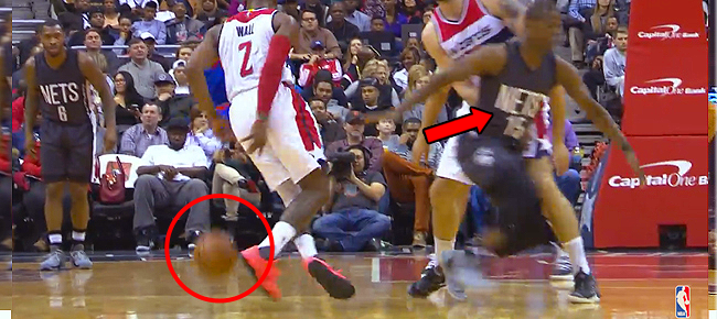 John Wall SICK Behind-the-Back Crossover Leads to Jumper (VIDEO)
