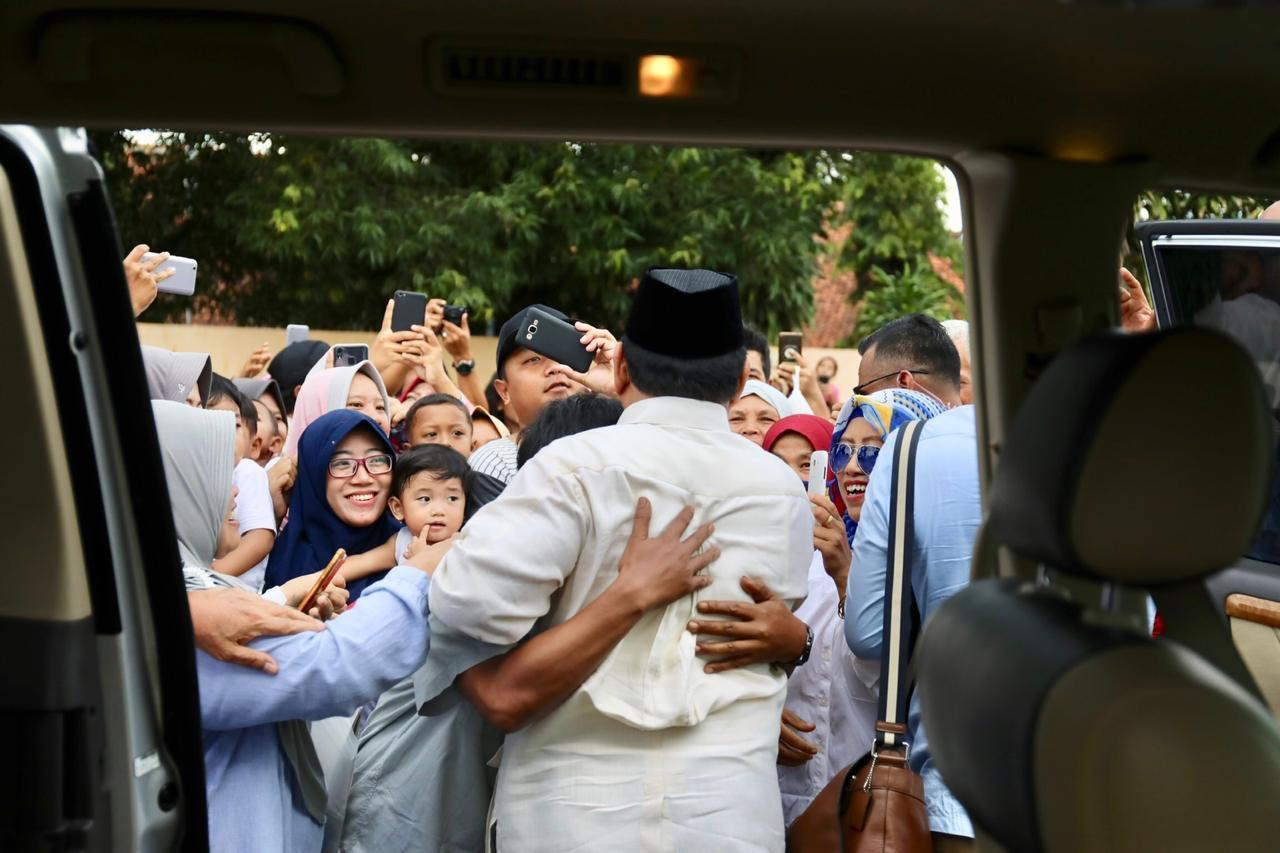 #PrabowoMenyapaJawa, Bos Banteng 'Pingsan', Masjid Ditutup!