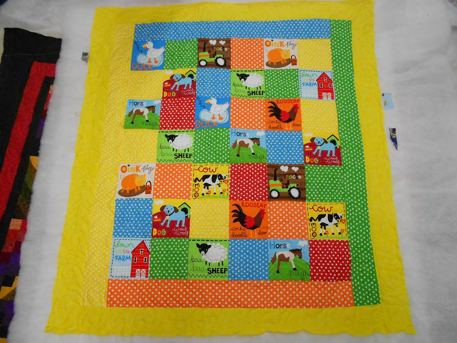 Down To Sew: Farm Baby Quilt