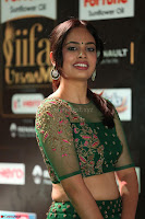 Nandita Swetha in a tight Green Choli Ghagra at IIFA Utsavam Awards March 2017 ~ 051.JPG