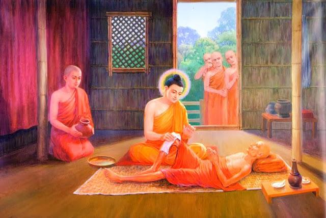 Đạo Phật Nguyên Thủy - Kinh Tương Ưng Bộ - Giáo giới người sắp chết