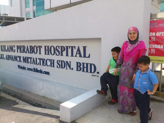 Kilang Perabot Hospital, Taman Perindustrian Bukit Serdang.