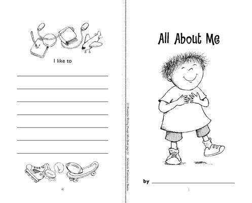 all about me printable - Ecosia
