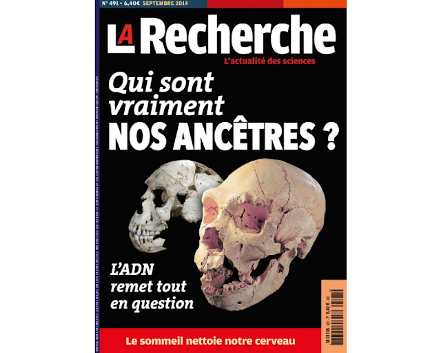 Magazine  : de L'actualité des sciences ==> La Recherche.